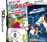 2 in 1 - Best of Bibi Und Tina - Die Grosse Schnitzeljagd + Das Grosse Unwetter DS cover (TBUD)