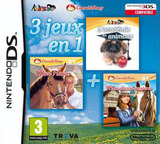 3 in 1 - My Riding Stables + My Pet School + My Western Horse DS cover (TBXX)