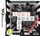 1001 Crosswords DS cover (TCXP)