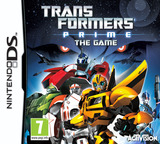 Transformers Prime - The Game DS cover (TPTP)