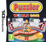 Puzzler World 2012 DS cover (TPWP)