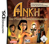 Ankh - Curse of the Scarab King DS cover (YAKD)