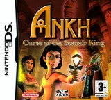 Ankh - Curse of the Scarab King DS cover (YAKP)
