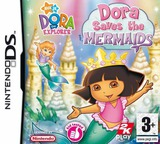 Dora the Explorer - Dora Saves the Mermaids DS cover (YDRX)