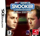 World Snooker Championship - Season 2007-08 DS cover (YSNP)
