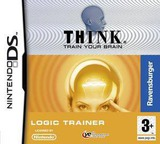 Think - Train Your Brain - Logic Trainer DS cover (YTLP)