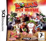 Worms - Open Warfare DS cover (AWSP)