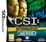 CSI - Crime Scene Investigation - Determinación Mortal - Casos Ocultos DS cover (BCIP)