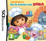 Dora's Cooking Club DS cover (BNUP)