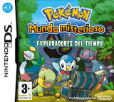 Pokémon Mystery Dungeon - Explorers of Time DS cover (YFTP)