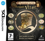 Professor Layton and the Curious Village pochette DS (A5FP)