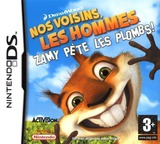 Over the Hedge - Hammy Goes Nuts! pochette DS (AVHP)