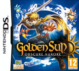 Golden Sun - Obscure Aurore pochette DS (BO5P)