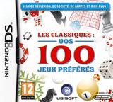 Les Classiques - Vos 100 Jeux Préférés pochette DS (BOZP)