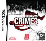 Unsolved Crimes pochette DS (CICP)