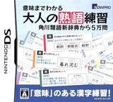 Imi made Wakaru - Otona no Jukugo Renshuu - Kadokawa Ruigo Shin Jiten kara 5-man Mon DS cover (C5JJ)