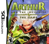 Arthur and the Invisibles - The Game DS cover (A2ME)