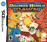 Digimon World - Dawn DS cover (A3VE)