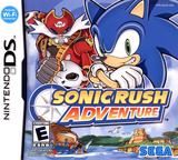Sonic Rush Adventure DS cover (A3YE)