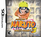 Naruto - Ninja Council 3 DS cover (A95E)
