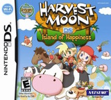 Harvest Moon DS - Island of Happiness DS cover (ABJE)