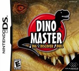 Dino Master - Dig, Discover, Duel DS cover (ADCE)