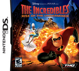 The Incredibles - Rise of the Underminer DS cover (AICE)
