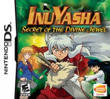 InuYasha - Secret of the Divine Jewel DS cover (AIYE)