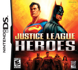 Justice League Heroes DS cover (AJLE)