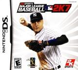 Major League Baseball 2K7 DS cover (AL6E)