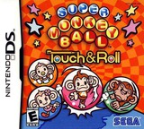 Super Monkey Ball - Touch & Roll DS cover (AMOE)