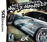 Need for Speed - Most Wanted DS cover (ANWE)