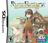 Rune Factory - A Fantasy Harvest Moon DS cover (ARFE)