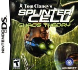 Tom Clancy's Splinter Cell - Chaos Theory DS cover (ATCE)