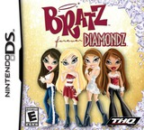 Bratz - Forever Diamondz DS cover (AVDE)