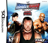 WWE SmackDown vs Raw 2008 featuring ECW DS cover (AW8E)
