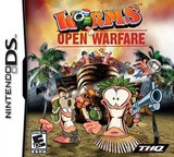 Worms - Open Warfare DS cover (AWSE)