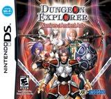 Dungeon Explorer - Warriors of Ancient Arts DS cover (AXJE)