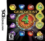 Gem Quest - 4 Elements DS cover (B4EE)