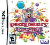 Chuck E. Cheese's Party Games DS cover (BC8E)
