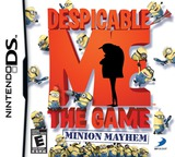 Despicable Me - The Game - Minion Mayhem DS cover (BDWE)