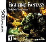 Fighting Fantasy - The Warlock of Firetop Mountain DS cover (BFGE)