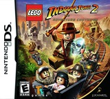 LEGO Indiana Jones 2 - The Adventure Continues DS cover (BLJE)