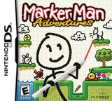 Marker Man Adventures DS cover (BMKE)