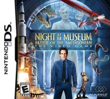 Night at the Museum - Battle of the Smithsonian - The Video Game DS cover (BNME)