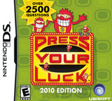 Press Your Luck - 2010 Edition DS cover (BP6E)