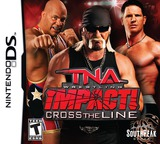 TNA Wrestling Impact! - Cross the Line DS cover (BTXE)
