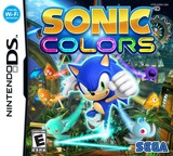 Sonic Colors DS cover (BXSE)