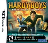 The Hardy Boys - Treasure on the Tracks DS cover (C3TE)