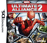 Marvel - Ultimate Alliance 2 DS cover (C4ME)
